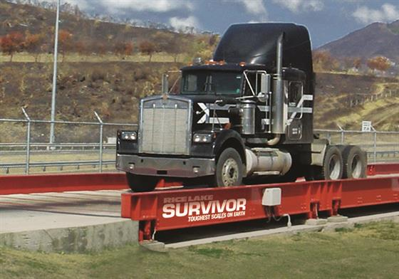 SURVIVOR® OTR Concrete Deck Truck Scale